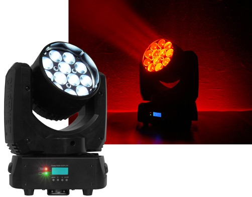 Effet de type Lyre Wash Legend 412Z LED 120w RVBW