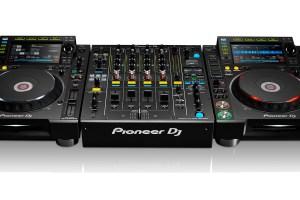 Régie DJ Pioneer: DJM 900 / CDJ 2000