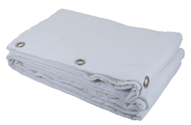 Rideau Blanc Molleton 3m x 5m