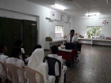 Facilities in Nursing college