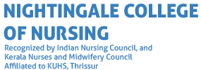 Nightingale college of nursing Trivandrum logo