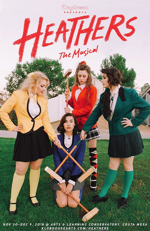 Immersive Theatre: HEATHERS THE MUSICAL - Nightmarish Conjurings