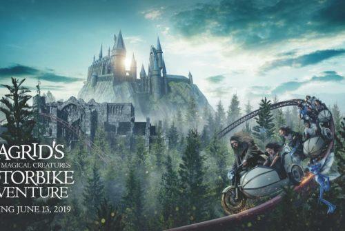 [News] Universal Orlando Announces HAGRID'S MAGICAL CREATURES MOTORBIKE ADVENTURE