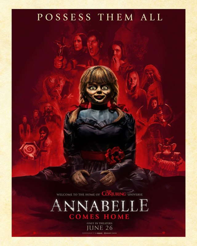 [News] New ANNABELLE COMES HOME Poster Stokes Great Fear!
