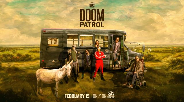 The Doom Patrol squad is here for the taking!