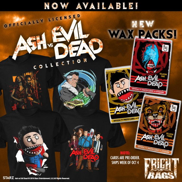 News] Fright-Rags Pays Homage to ASH VS  EVIL DEAD