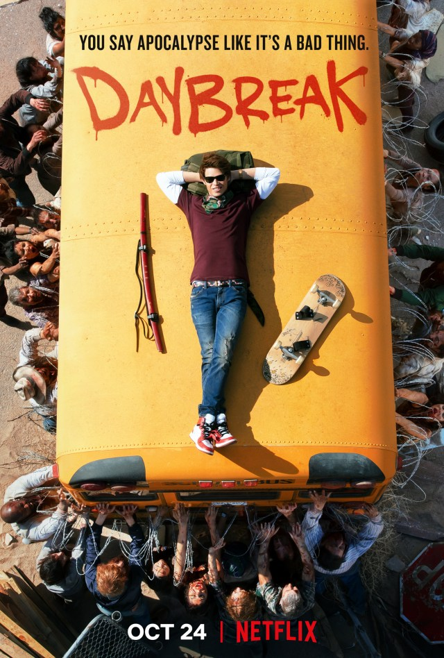 [News] Netflix Reveals Apocalyptic DAYBREAK Trailer and Poster