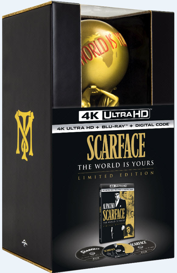 [News] Pop-Culture Phenomenon SCARFACE Coming to 4K Limited Edition