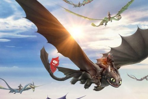 [VR Experience] DREAMWORKS DRAGON FLIGHT ACADEMY
