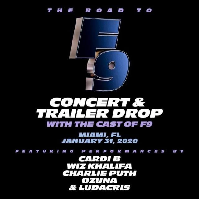 [News] Countdown to FAST & FURIOUS 9 Trailer Launch and Concert