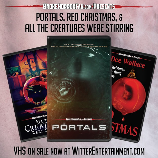 [News] PORTALS, ALL THE CREATURES WERE STIRRING, & RED CHRISTMAS Join Modern VHS Line