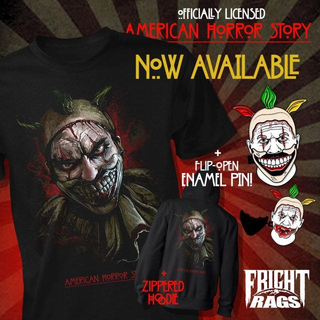 [News] Fright-Rags Embraces the Freak Show in New AHS Merch and More!