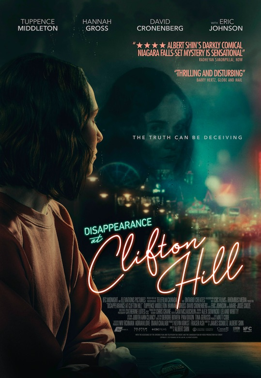 [News] First-Look Trailer for DISAPPEARANCE AT CLIFTON HILL Revealed
