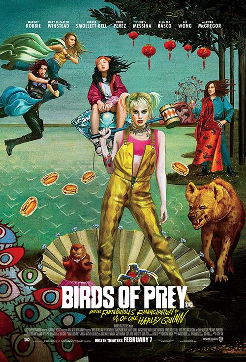 [Nightmarish Detour Review] BIRDS OF PREY