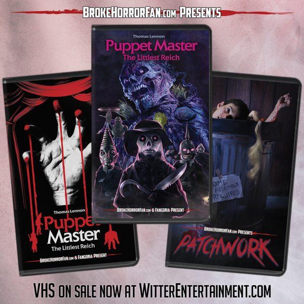 [News] PUPPET MASTER: THE LITTLEST REICH & PATCHWORK Join Modern VHS Line