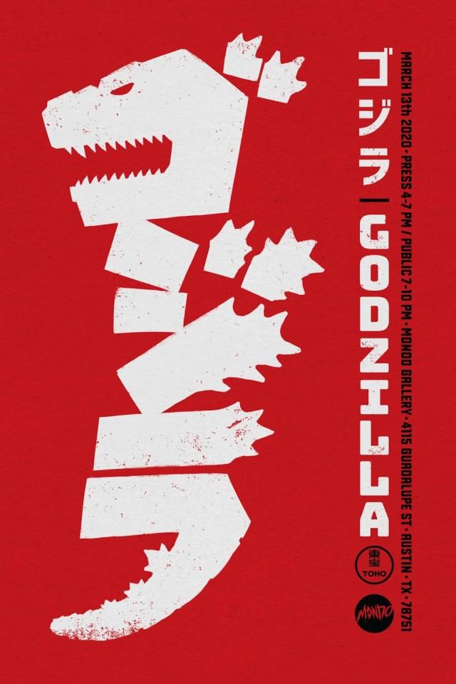 [News] Mondo Awakens GODZILLA at SXSW with a Kaiju-Sized Gallery Show