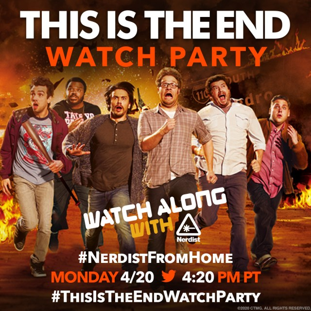 [News] Celebrate 4/20 Today with THIS IS THE END Twitter Watch Party!