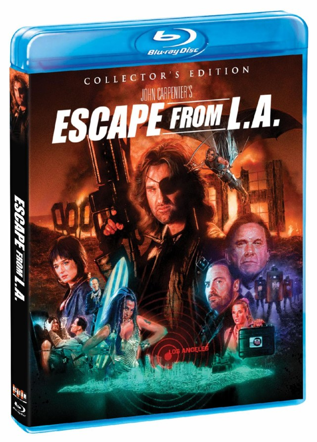 [News] ESCAPE FROM L.A. Collector's Edition Blu-Ray Coming May 26!