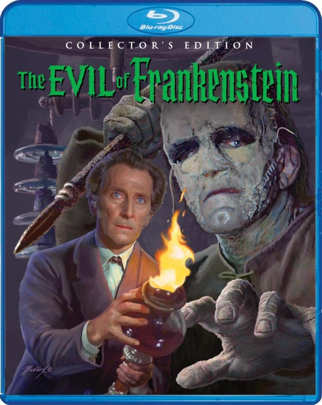 [News] THE EVIL OF FRANKENSTEIN Collector's Edition Coming to Blu-ray This May!