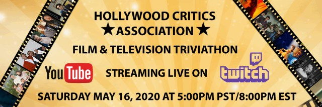 [News] Hollywood Critics Association to Host a Film & Television Triviathon for COVID-19 Relief