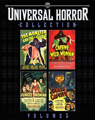 [News] Scream Factory Presents UNIVERSAL HORROR COLLECTION VOL. 5 This June