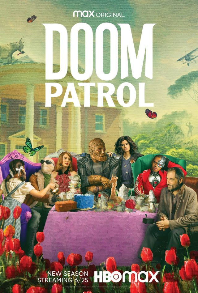 [News] HBO Max Reveals DOOM PATROL Season Two Key Art