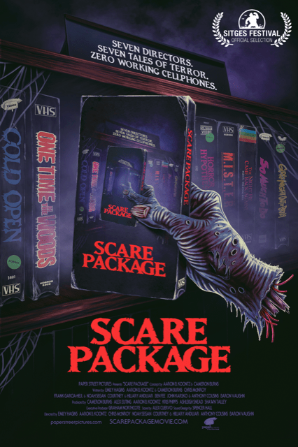 [Interview] Writers/Directors Courtney and Hillary Andujar for SCARE PACKAGE