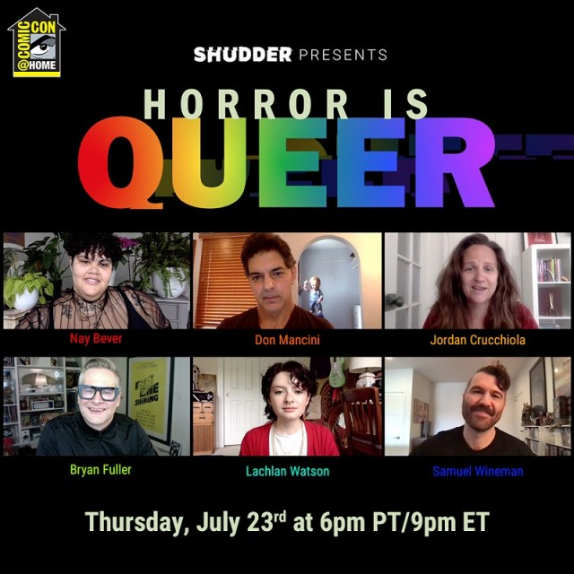 [Comic-Con@Home Panel Recap] Shudder Presents 'Horror is Queer'