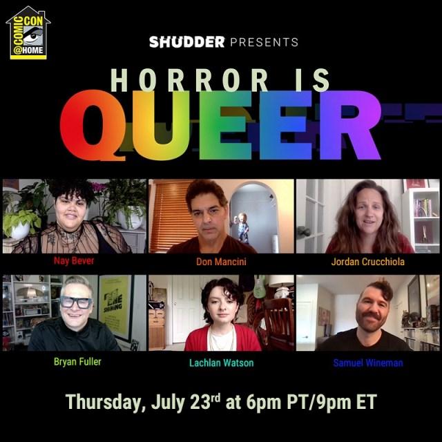 [Comic-Con@Home Panel Recap] Shudder Presents 'Horror is Queer'