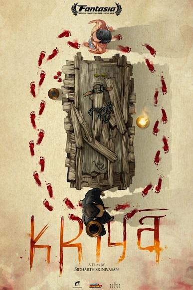 [News] KRIYA Poster & Trailer Revealed Ahead of Premiere at Fantasia Digital
