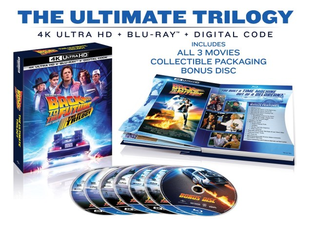 [News] BACK TO THE FUTURE: THE ULTIMATE TRILOGY Arriving on 4K on October 20