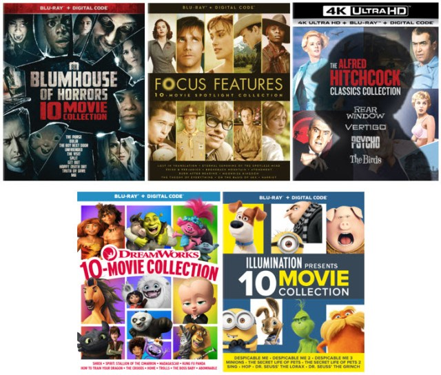 [News] Universal Pictures Unveils Must Own 10-Movie Collections!