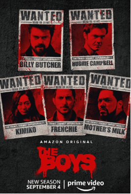 [News] Check Out The Teaser Trailer for Second Season of THE BOYS