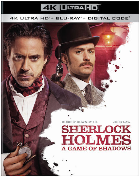 [Blu-ray/DVD Review] SHERLOCK HOLMES: A GAME OF SHADOWS