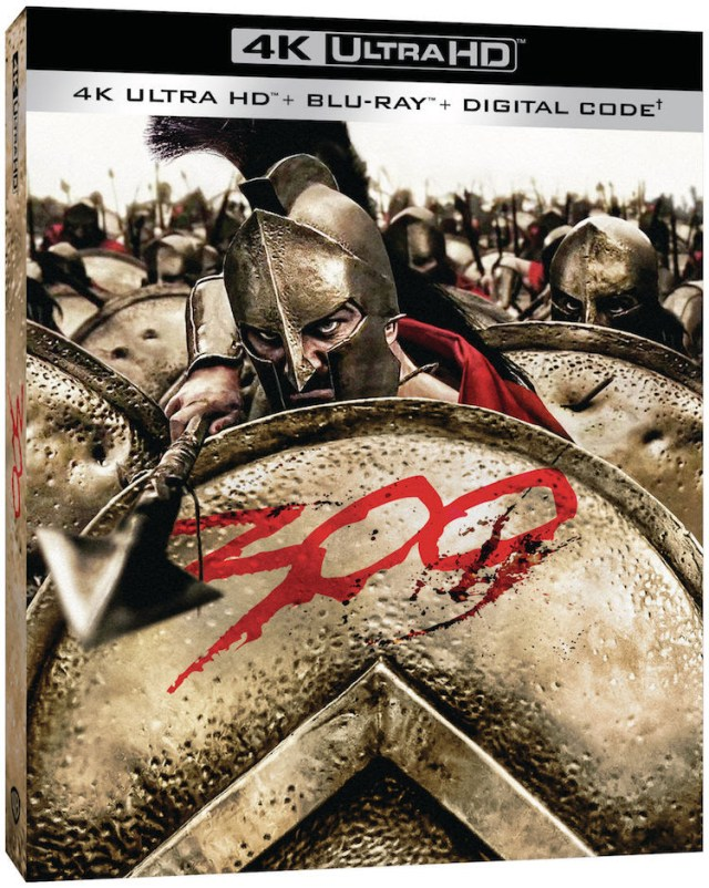 [News] Zack Snyder's 300 Debuts on 4K Ultra HD Blu-Ray on October 6