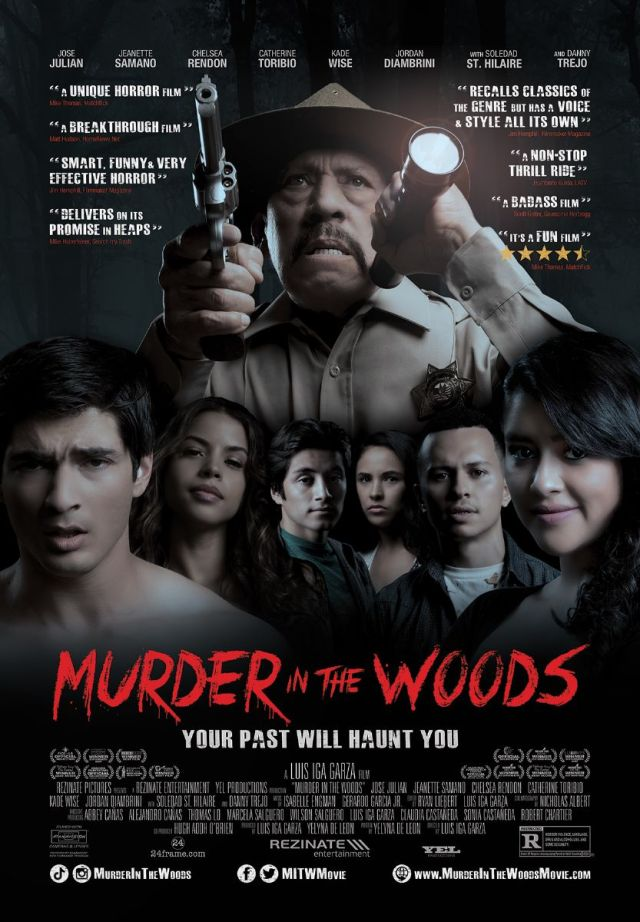 [News] MURDER IN THE WOODS Coming to Drive-Ins & Theaters August 14