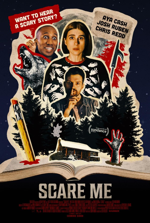 [Interview] Actor Aya Cash for SCARE ME