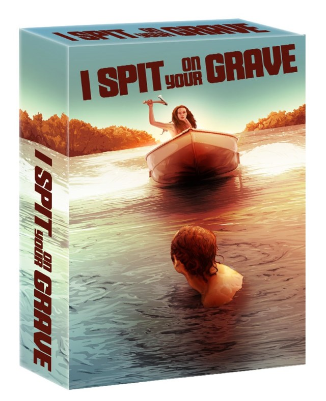 [News] Ronin Flix Dropping I SPIT ON YOUR GRAVE Blu-ray Box Set Collector's Edition