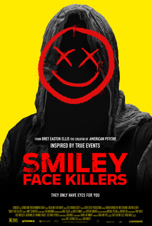 [News] SMILEY FACE KILLERS Arrives on Digital, Blu-ray & DVD December 8