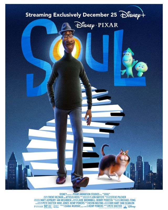 [News] Disney & Pixar's SOUL Heading to Disney+ December 25