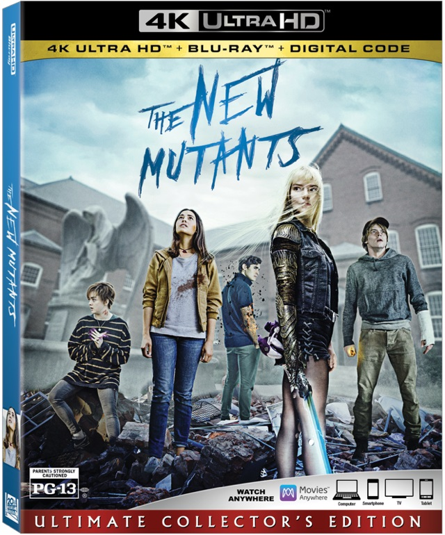 [News] THE NEW MUTANTS Arrives on Digital, Blu-ray & DVD Nov. 17