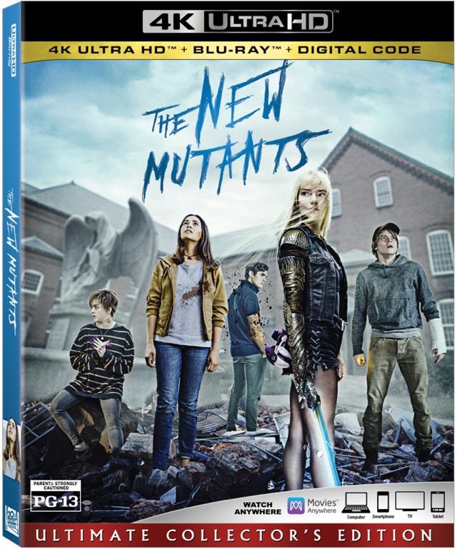 [News] THE NEW MUTANTS Arrives on Digital, Blu-ray & DVD Nov. 17