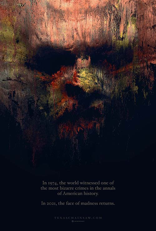 [News] Legendary Reveals New TEXAS CHAINSAW MASSACRE Teaser Poster