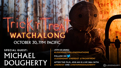 [News] TRICK 'R TREAT Director Michael Dougherty Hosts Special Watchalong Tomorrow!