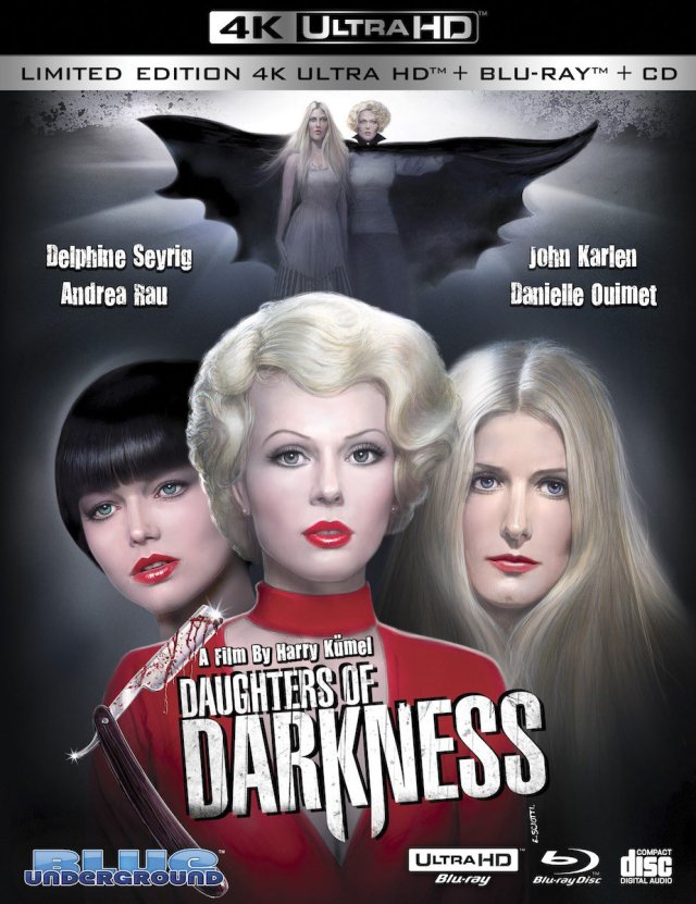 [Blu-ray/DVD Review] DAUGHTERS OF DARKNESS