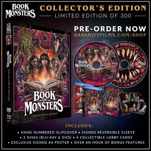 [News] BOOK OF MONSTERS Collector's Edition Dropping November 30