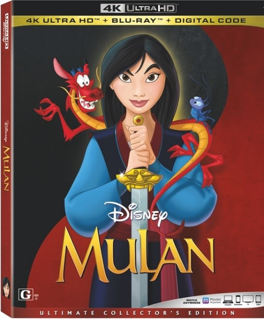 [News] Own Both Animated and Live-Action MULAN on Blu-ray November 10