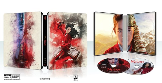 [News] Own Both Animated and Live-Action MULAN on Blu-ray November 10