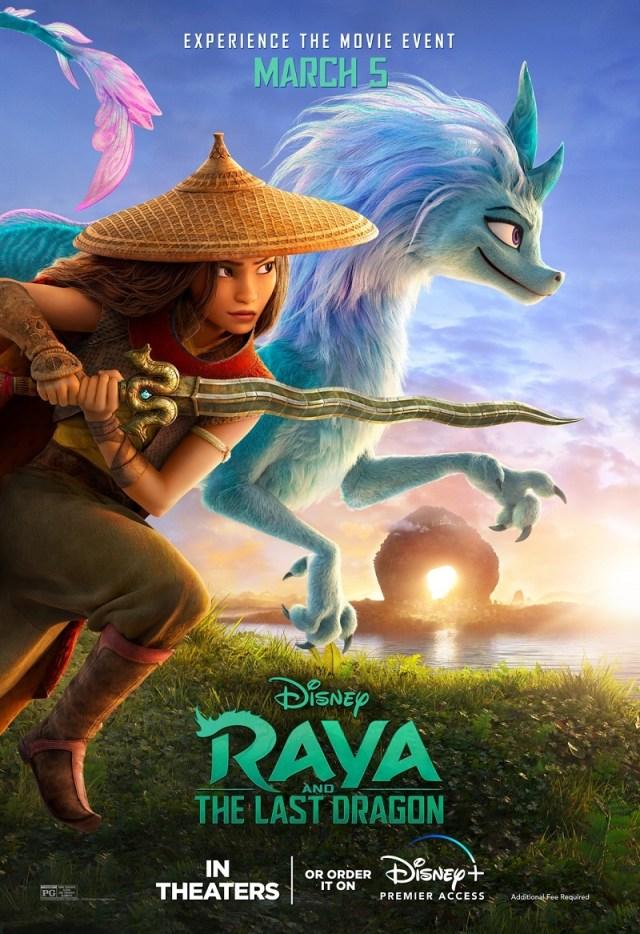 [News] New RAYA AND THE LAST DRAGON Trailer Soars