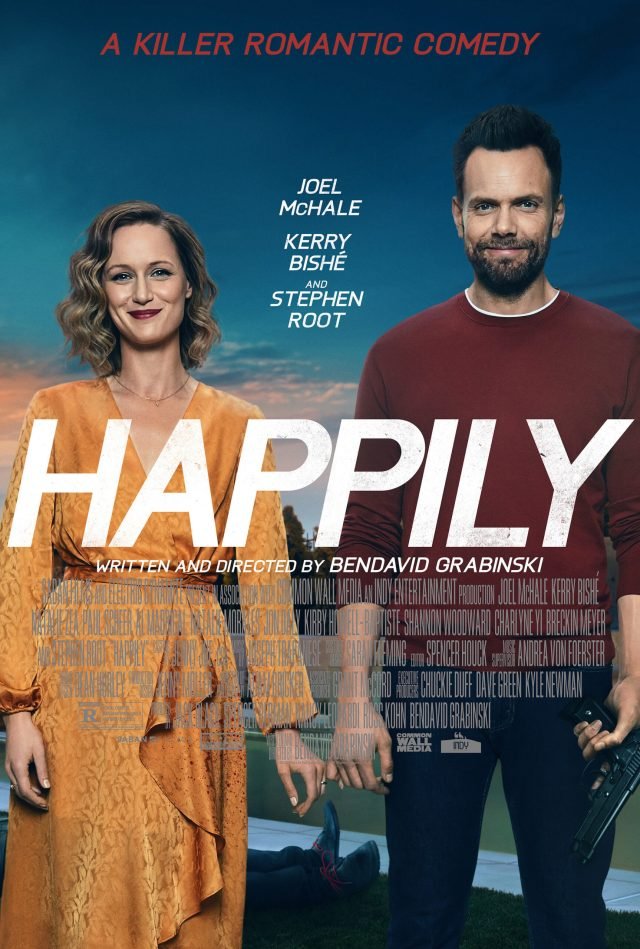 [News] HAPPILY - A Killer Romantic Comedy - Arrives March 19